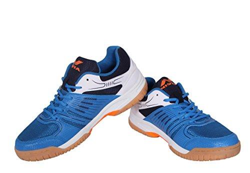 Nivia Gel Verdict Badminton Shoes  Blue, White