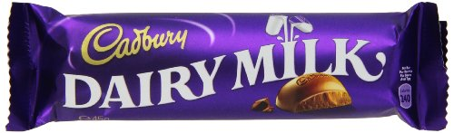 Cadbury Dairy Milk, 45g Bars, (Pack of 12) for sale  Delivered anywhere in USA