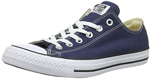 Converse Chuck Taylor All Star Ox Black/Egret/Black Denim 147037F 9 Men US/11 Women US Converse Navy