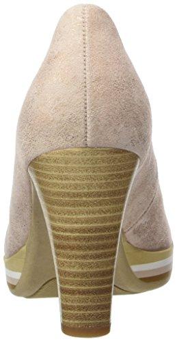 Gabor Shoes Fashion, Zapatos de Tacón para Mujer Beige (rame 64)