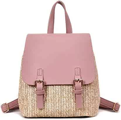 1e76742d462a Shopping Pinks - Straw - Fashion Backpacks - Handbags & Wallets ...