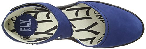 Blue Correa Mujer Blue Azul Piat de Black London Tobillo Fly Ravxqw86R