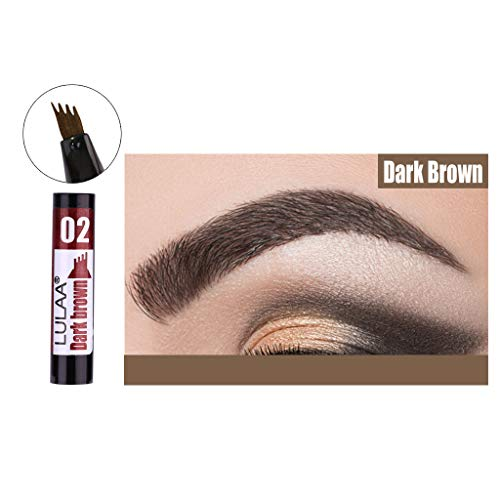 ❤️ Sunbona ❤️ Clearance Sale LULAA Liquid Eyebrow Pencil Lasting Waterproof Not Blooming Easy to Color (B)