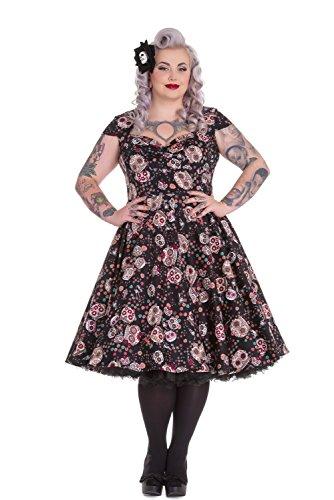 Hell-Bunny-Plus-Calavera-Day-of-the-Dead-Flower-Sugar-Skull-Black-Party-Dress