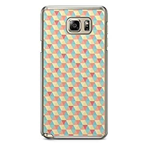 Floral Samsung Note 5 Transparent Edge Case - Geometry C