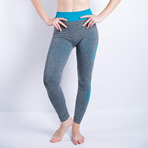 Cielo Yoga Mujeres Patchwork Leggings Deportes Atlético Gym Fitness Pantalón CICIYONER Running Pantalones PZ6WRq6n