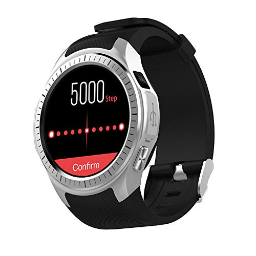 (Smart Watches for Men Waterproof, L1 Smart Watch Fitness Tracker Bluetooth GPS Calorie/Step Counter Outdoor Sports for Father Men Student Youth Teens Boyfriend Lover's Birthday Anniversary Gift)