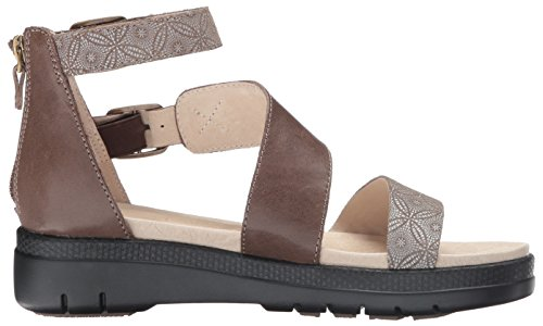 Cape Jambu Femmes Peut Caler Sandale Impression Taupe
