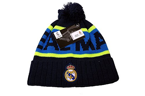 Real Madrid C.F. Authentic Official Licensed Soccer Beanie (One Size, Real Madrid 3) by RHINOXGROUP