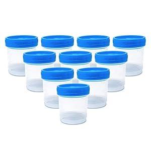 Vasos de Muestras de Orina, 90 ml (Paquete de 10) 18