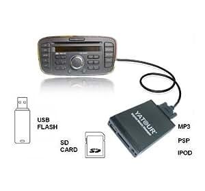 Ford DMC AUX Adaptador Interfaz para USB SD-Mapa 4050 5000 6000 CD RDS etc