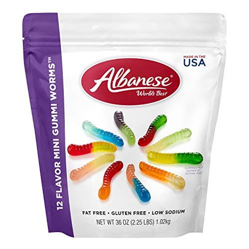 Albanese Worlds Best, Gummi Worms, 36 oz