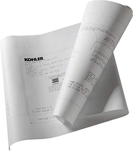 KOHLER 550-NA Underscore Install kit