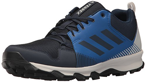 adidas outdoor Men's Terrex Tracerocker Trail Running Shoe, col. Navy/Grey one, 11 D US