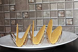 PARTY 2 PACK - Stainless Steel Taco Holders - 3 TACOS PER HOLDER