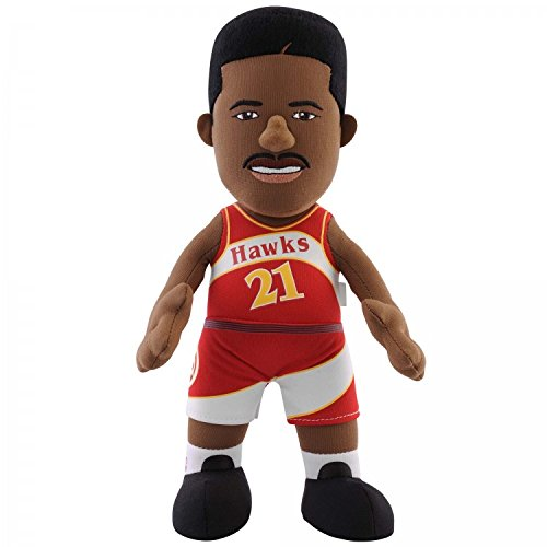 NBA Atlanta Hawks Dominique Wilkins Plush Figure, 10