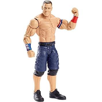 WWE Básico Serie 69 Figura De Acción - John Cena  HLR Azul Y Blanco Rojo d3fa65ce773