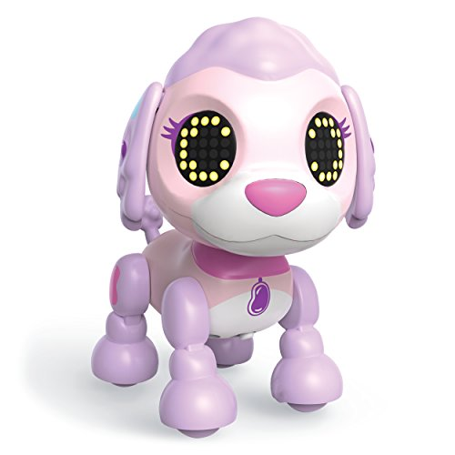 (Zoomer Zupps Tiny Pups, Poodle Jellybean, Litter 3 - Interactive Puppy with Lights, Sounds and Sensors)