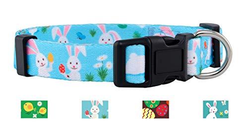 Native Pup Easter Dog Collar (Bunny, -