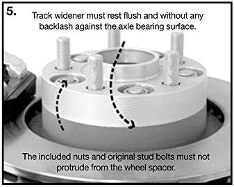 H/&R 4065673 DRM-System Wheel Spacer Set 40mm per axle Pattern 5x114,3-Hub 67,1mm-Bolt Size M12x1,5-Citro/ën//Hyundai//Jeep//Kia//Mazda//Mitsubishi//Peugeot