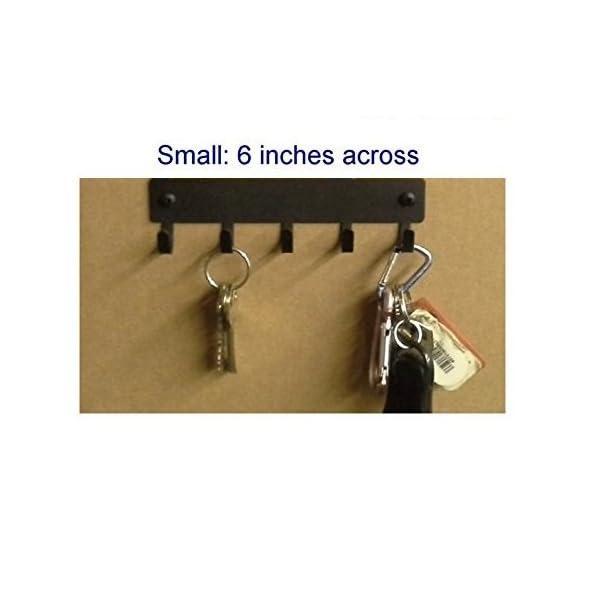 The Metal Peddler Australian Shepherd Key Rack Dog Leash Hanger - Small 6 inch Wide 2