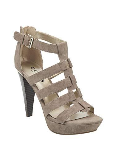 GUESS Factory Women's Nancee Gladiator Platform Heels ()