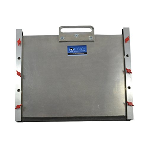 Door Flood Barrier Shield ((10'' x 40'')) by Legacy Manufacturing, LLC.