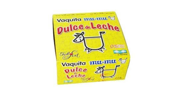 Amazon.com : Vaquita Mu-Mu Dulce de Leche Bombon 480grs : Caramel Candy : Grocery & Gourmet Food