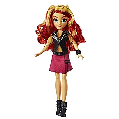 My Little Pony Equestria Girls Sunset Shimmer Classic Style Doll: Toys & Games
