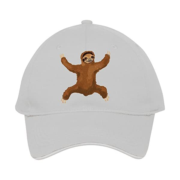 Hot Fashion Cotton Baseball Cap Snapback Hats With Lucacald Sloth Love Hug Male/Female -