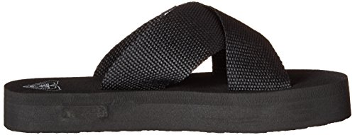 Roxy Women's Cayman Slide Sandal Black 3am7SsOY