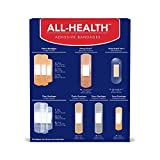 All-Health Antibacterial Bandage Value Pack, Assorted Sizes, 225 Count