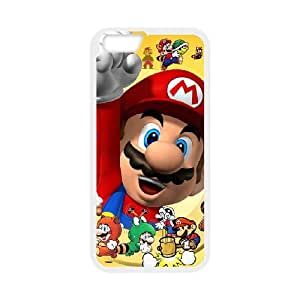 Super Mario iPhone 6 4.7 Inch Cell Phone Case White yyfabd-003028