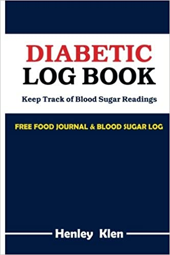 diabetic log books keep track of blood sugar readings free food