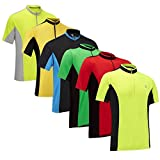 Tenn Mens Coolflo S/S Cycling Jersey - Green/Black - Lrg
