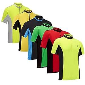 Tenn Mens Coolflo S/S Cycling Jersey - Black/White - Sml