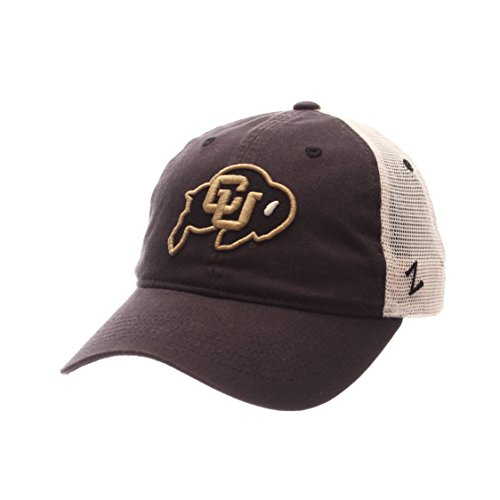 NCAA Colorado Buffaloes Adult Men University Relaxed Cap, Adjustable, Team Color/Stone