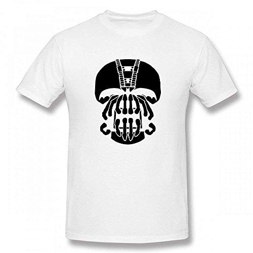Bane Mask Customizable Personalized Men's T-Shirt -