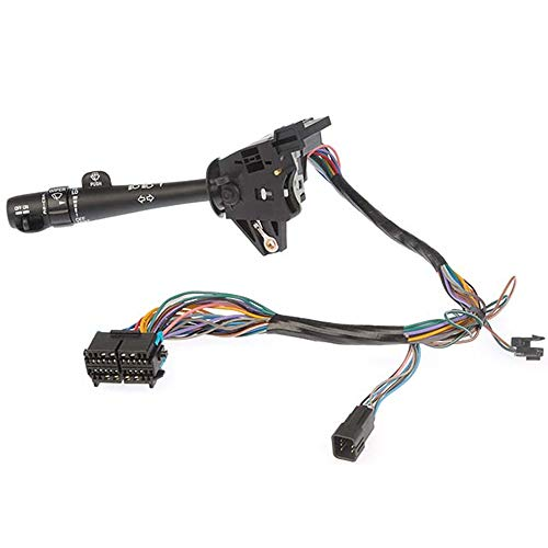 ROADFAR Turn Signal Switch Multi-Function Combination Switch Turn Signal Wiper Washers Hazard Switch Replacement fits 2000-2005 Chevy Impala Cruise Control 2000-2005 Chevy Monte Carlo l26073612 (Signal Carlo Monte Switch Turn)