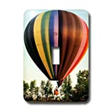 3dRose LLC lsp_1154_1 Hot Air Balloon, Single Toggle Switch