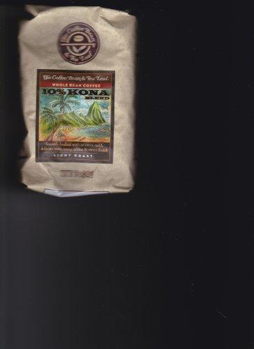 10% KONA Meld LIGHT ROAST WHOLE BEAN COFFEE (NET WT 12 oz)