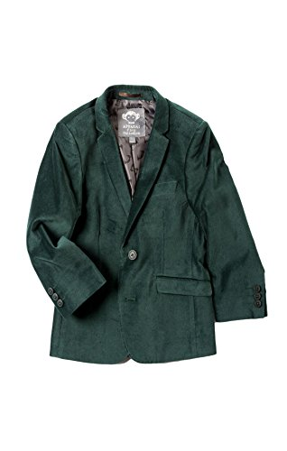 Appaman Kids Baby Boy's Fully Lined Velvet Blazer (Toddler/Little Kids/Big Kids) Forest Velvet 4 US Toddler