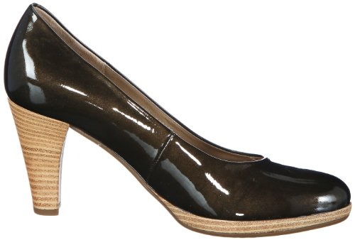 Scarpe Col Natur grün Shoes Verde Gabor sohle Donna herb Tacco HaZ5x
