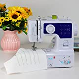 Luby Sewing Machine with 12 Built-in Stitches