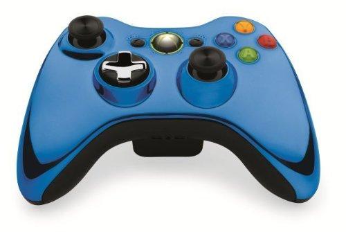 Xbox 360 Wireless Controller Chrome Blue