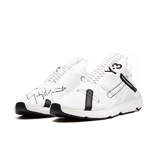 adidas Y-3 by Yohji Yamamoto Y-3 Reberu Footwear White/Core Black/Footwear White UK 7.5 (US Men's 8, US Women's 9)