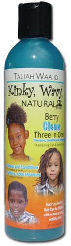 Taliah Waajid Kinky Wavy Natural Berry Clean 3-In-1 Shampoo 8 oz. (Pack of 6) by Taliah (Image #1)