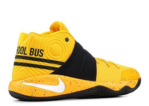 Nike Grunnskolen Gutter Kyrie 2 Basketball Sko Gul Svart
