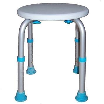MedMobile Round Bath Stool With Adjustable Legs  sc 1 st  Amazon.com & Amazon.com: MedMobile Round Bath Stool With Adjustable Legs ... islam-shia.org