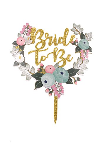 Bride Cake - Bride to Be Cake Topper, ICASA, Bridal Shower,Wedding,Bachelorette Party Cake Topper Cake Stand for Party Decoration